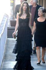 EMILY RATAJKOWSKI Leaves Her Apartment in Los Angeles 06/01/2015