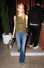 EMMA ROBERTS at Nice Guy in West Hollywood 06/11/2015