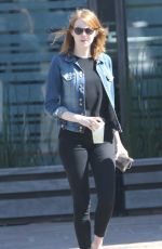 EMMA STONE Out and About in Los Angeles 06/18/2015