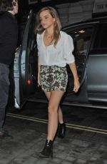 EMMA WATSON Arrives at Chiltern Firehouse in London 06/20/2015