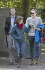 EMMA WATSON Heading to Scottish National Gallery of Modern Art in Edinburgh 06/06/2015