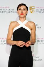 EMMA WILLIS at British Academy Television Awards in London