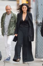 EMMANUELLE CHRIQUI Arrives at Jimmy Kimmel Live in Hollywood 06/04/2015