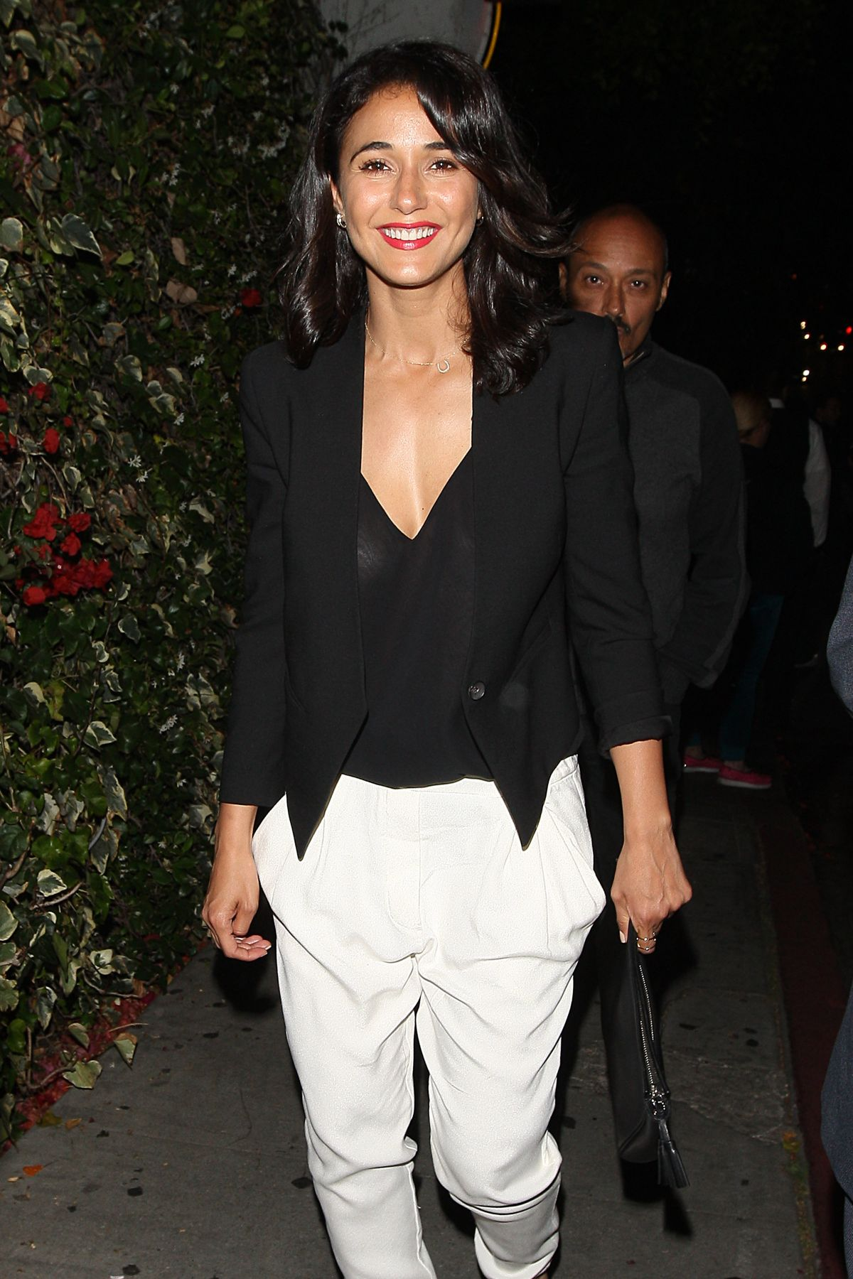 EMMANUELLE CHRIQUI Leaves Chateau Marmont in West Hollywood 06/03/2015