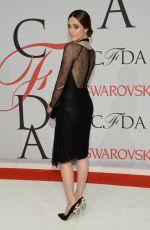 EMMY ROSSUM at CFDA Fashion Awards 2015 in New York