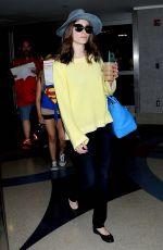 EMMY ROSSUM at Los Angeles International Airport 06/18/2015