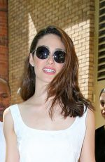 EMMY ROSSUM at The Live with Kelly & Michael in New York 06/17/2015