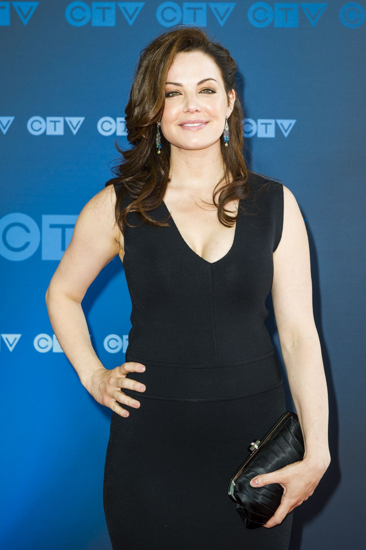 ERICA DURANCE at CTV Upfront in Toronto