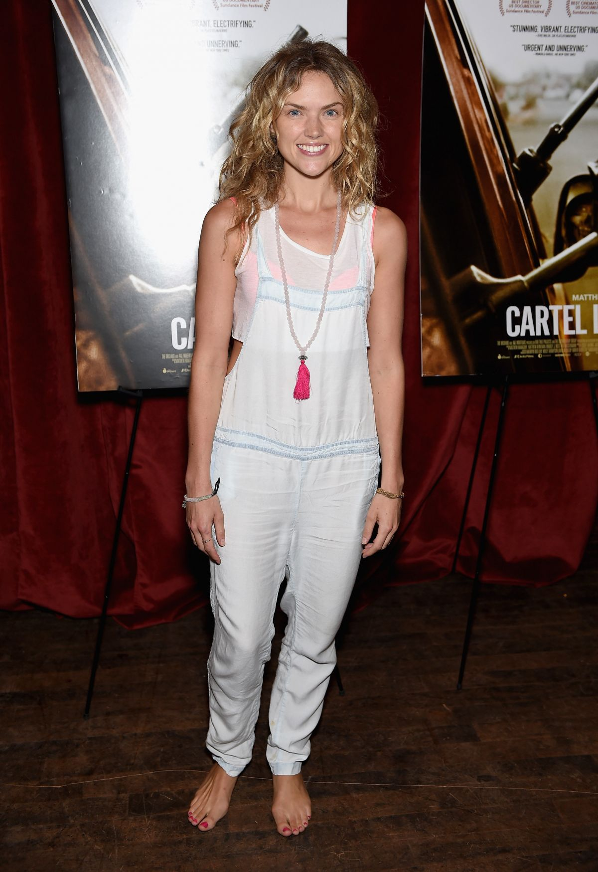 ERIN RICHARDS at Cartel Land Special Screening in New York