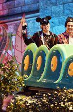 EVAN RACHEL WOOD at Disneyland in Anaheim 06/15/2015