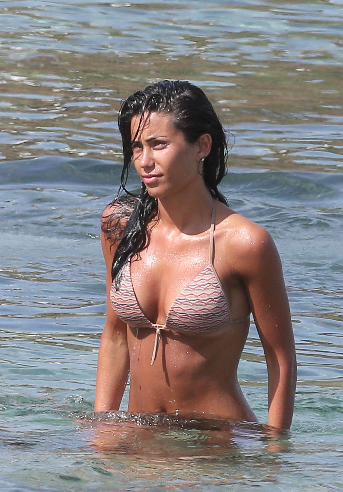 FEDERICA NARGI in Bikini at a Beach in Mykonos 06/15/2015