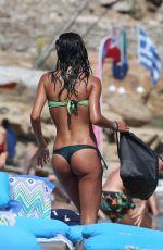 FEDERICA NARGI in Bikini on the Beach in Mykonos 06/16/2015