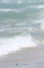 FERNANDA DE FRITAS in Bikini at Beach of Barra Da Tijuca in Rio De Janeiro