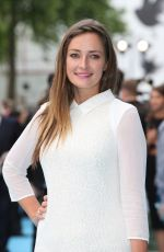 FRAN NEWMAN-YOUNG at Entourage Premiere in London