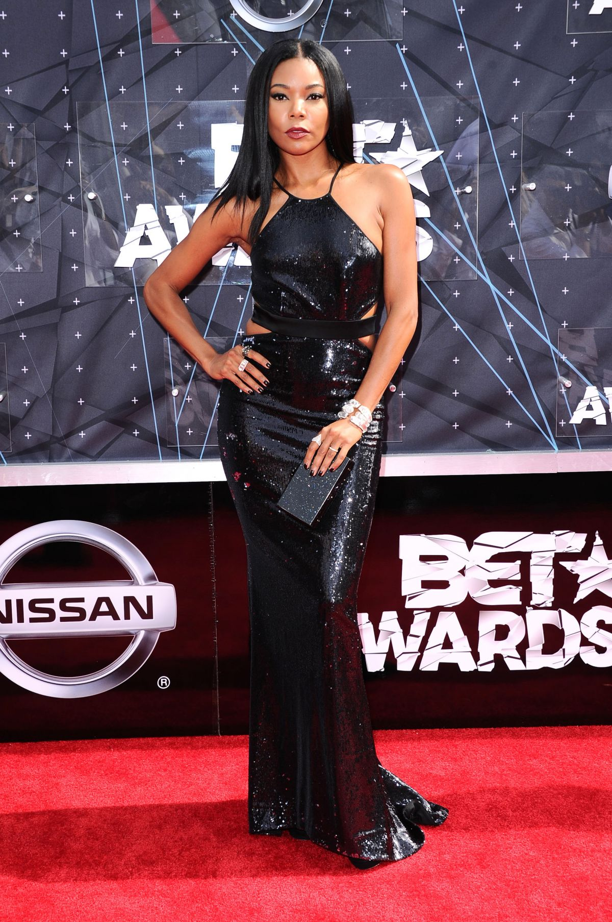 GABRIELLE UNION at 2015 BET Awards in Los Angeles