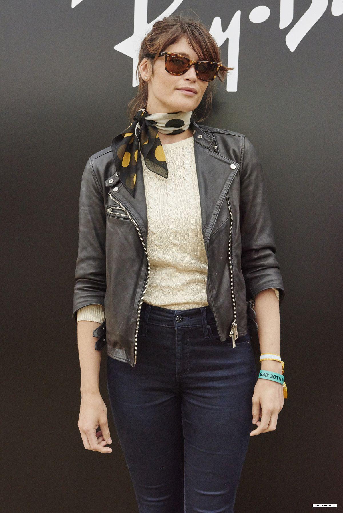 GEMMA ARTERTON at Ray-Ban Rooms at Barclaycard Presents British Summer Time London