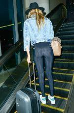 GIGI HADID Arrives at Los Angeles International Airport 06/26/2015