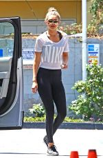 GIGI HADID at a Gas Station in West Hollywood 06/15/2015