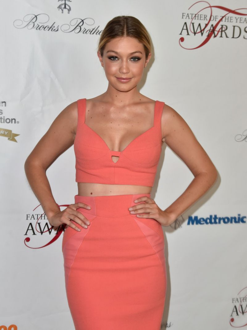 GIGI HADID at Greater Los Angeles Chapter of the American Diabetes Association