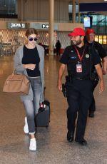 GIGI HADID at Pierre Elliott Trudeau Airport in Montreal 06/05/2015