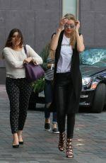 GIGI HADID Leaves Her Hotel in Toronto 06/21/2015
