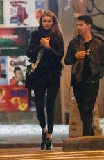 GIGI HADID Night Out in Montreal 06/05/2015