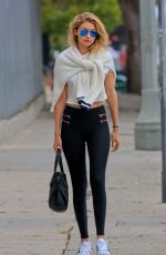 GIGI HADID Out and About in Hollywood 06/13/2015