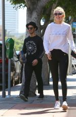 GIGI HADID Out and About in Westwood 06/19/2015