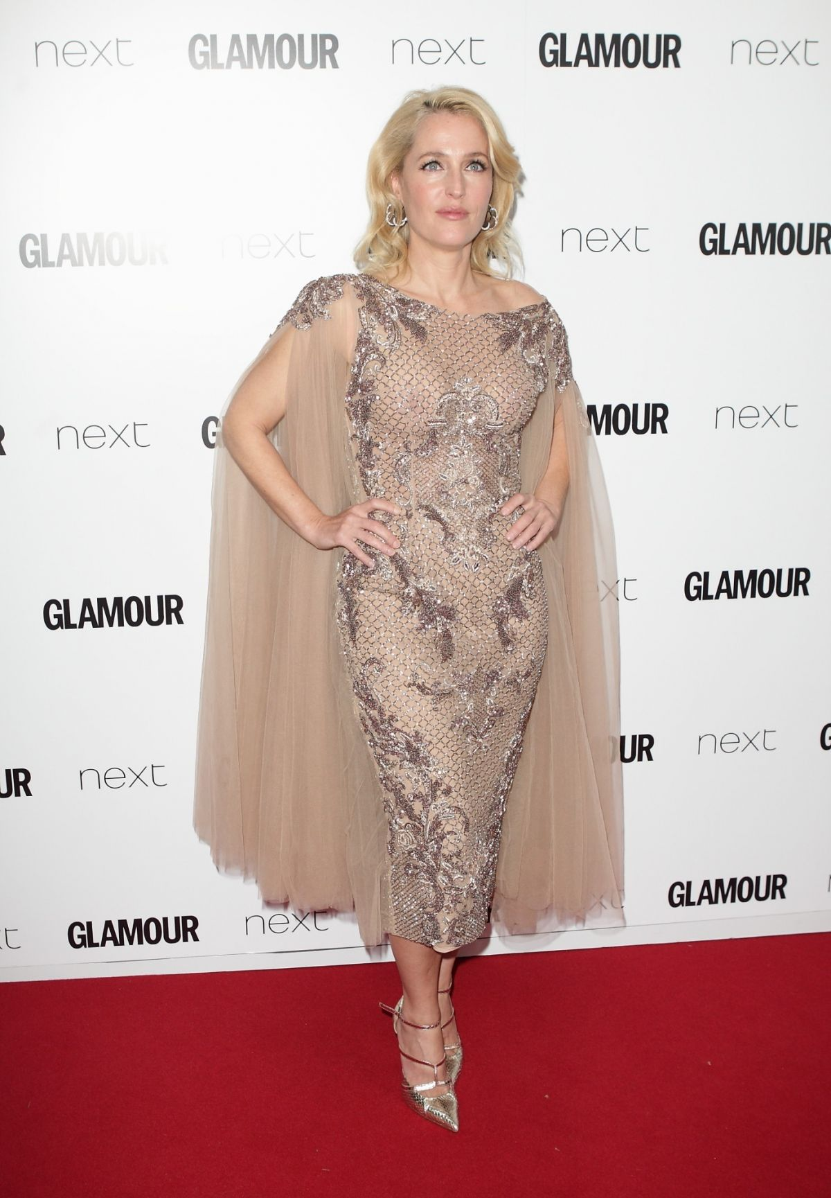 GILLIAN ANDERSON at Glamour Women of the Year Awards in London