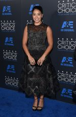 GINA RODRIGUEZ at 5th Annual Critics Choice Television Awards in Beverly Hills