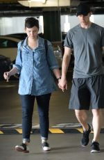 GINNIFER GOODWIN and Josh Dallas Out and About in Westwood 06/10/2015