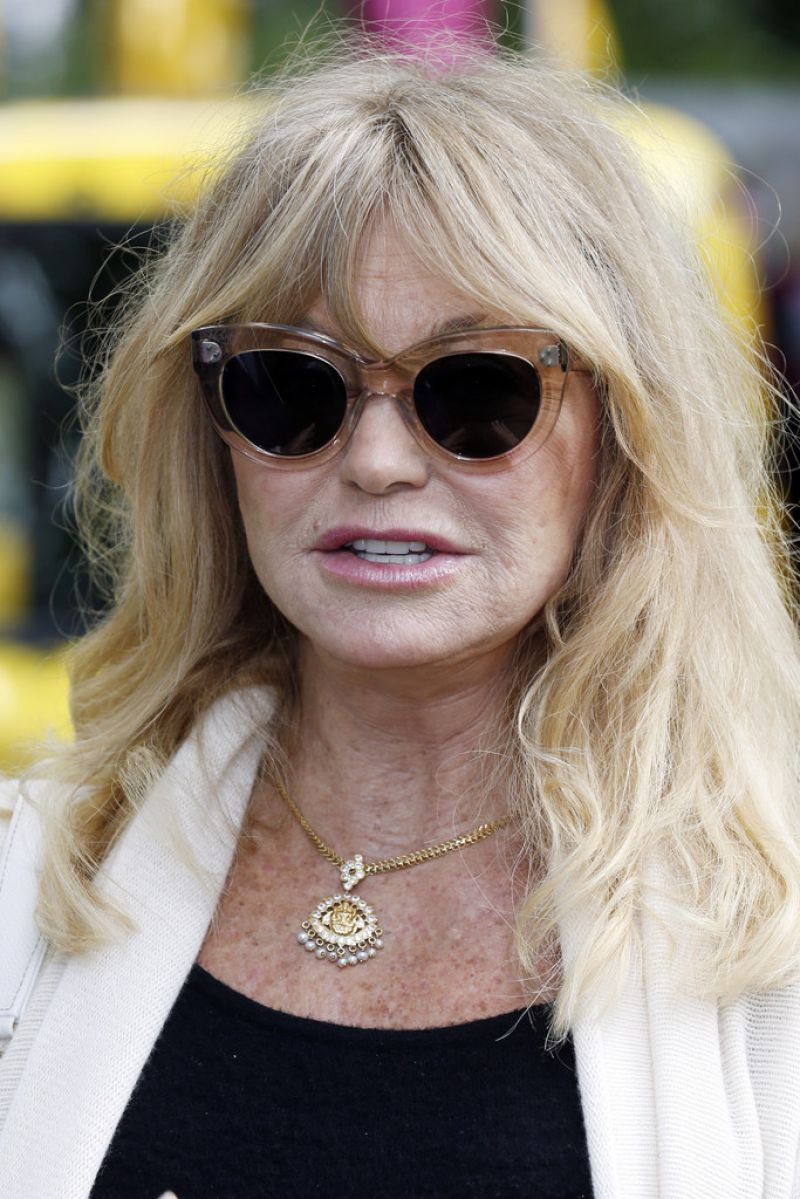 GOLDIE HAWN at Travels to My Elephant Conservation ...
