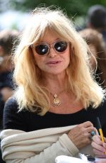 GOLDIE HAWN at Travels to My Elephant Conservation Campaign Launch in London