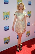 GRACE PHIPPS at Teen Beach 2 Premiere in Burbank