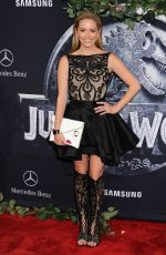 GREER GRAMMER at Jurassic World Premiere in Hollywood