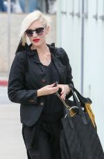 GWEN STEFANI Out and About in Santa Monica 06/11/2015