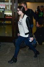 HAILEE STEINFELD Arrives at Los Angeles International Airport 06/22/2015