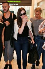 HAILEE STEINFELD at Pearson Airport in Toronto 06/20/2015