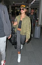 HAILEY BALDWIN Arrives at Airport in Sydney 06/29/2015