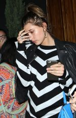 HAILEY BALDWIN Arrives at The Nice Guy in West Hollywood 06/01/2015