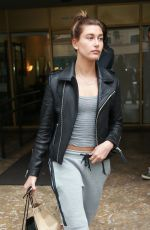 HAILEY BALDWIN Out Shopping in Beverly Hills 06/04/2015
