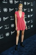 HAILEY CLAUSON at United Nations x Parley for the Oceans Launch Event in New York 06/29/2015