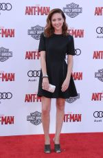 HALEY RAMM at Ant-man Premiere in Hollywood