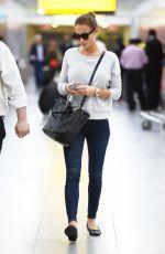 HANNAH DAVIS Arrives at JFK Airport in New York 06/08/2015