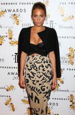 HANNAH DAVIS at 2015 Fragrance Foundation Awards in New York