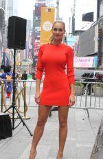 HANNAH DAVIS at Times Square in New York 06/11/2015