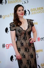 HAYLEY ATWELL at 55th Monte Carlo TV Festival Closing Ceremony