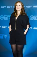 HAYLEY ATWELL at CTV Upfront in Toronto