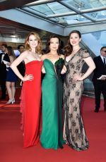 HAYLEY ATWELL, MING-NA WEN and SARAH DREW at 55th Monte-carlo TV Festival Closing Ceremony