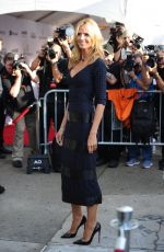 HEIDI KLUM Arrives at 2015 Amfar Inspiration Gala in New York
